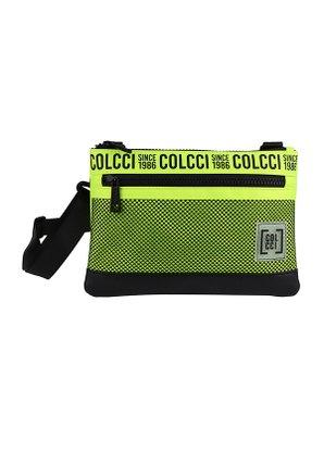 Bolsa Colcci Verde Neon com Tela