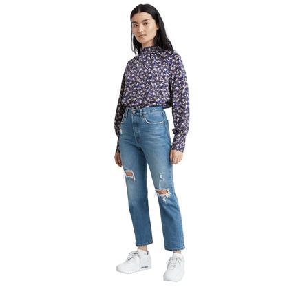 Calça Jeans Levis com Rasgos