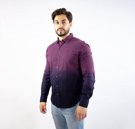 Camisa John John Manga Comprida Degrade