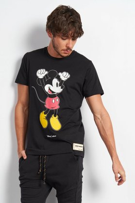Camiseta Colcci Estampada Preto