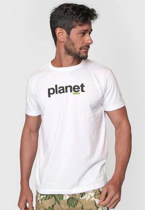 Camiseta Osklen Branco Planet