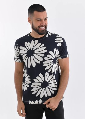 Camiseta Osklen Estampada Floral