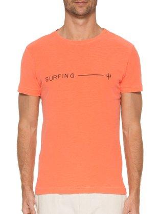 Camiseta Osklen Surfing Laranja