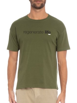 Camiseta Osklen Verde Amazônia