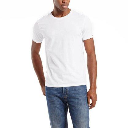 Kit Camiseta Levis Branco