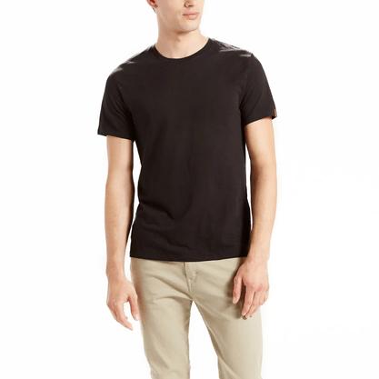 Kit Camiseta Levis Preto (2 peças)