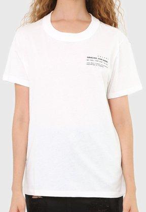 T-shirt Colcci Branco