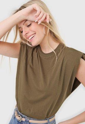 T-shirt Colcci Verde