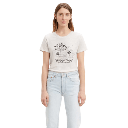 T-shirt Levis Off White