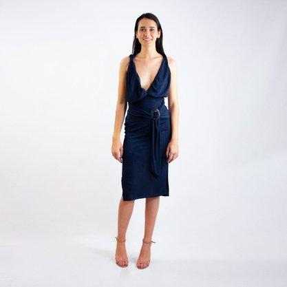 Vestido Midi Carmim