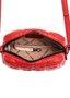 Bolsa Colcci de Lateral Matelassê Vermelha