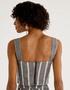 Cropped Shoulder Cinza